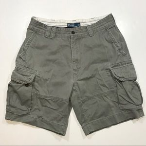 Mens Polo Ralph Lauren Cargo Shorts, Size 35